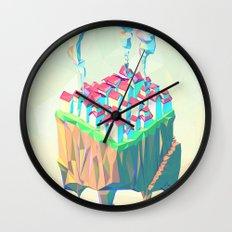 Triplex Wall Clock
