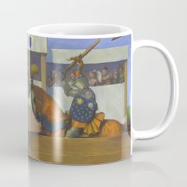 A Medieval Knights Jousting Tournament Coffee Mug