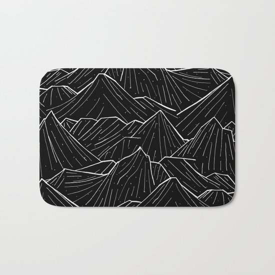 The Dark Mountains Bath Mat