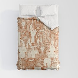 just ox rust pearl Comforters
