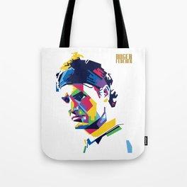 RF Roger Federer Tennis Tote Bag