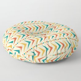 Rita / 50s Mid-Century Vintage Retro Pattern Floor Pillow