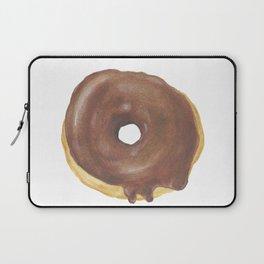 Chocolate Iced Doughnut Laptop Sleeve