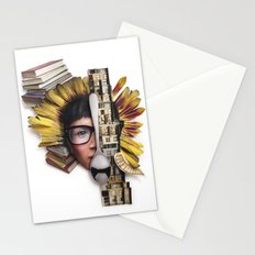 Timber | Collage Stationery Cards