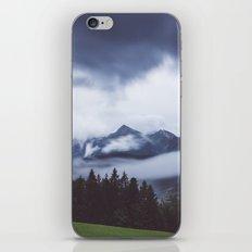 Weather break iPhone & iPod Skin