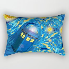 TARDIS STARRY CARTOONS Rectangular Pillow