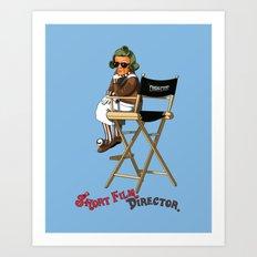 Short Film Director Art Print