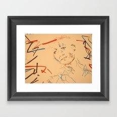 Looking for... Framed Art Print