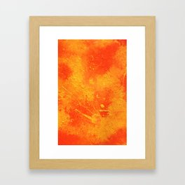 Phone abstract painting Framed Art Print