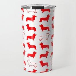 Corgi Print Travel Mug