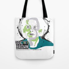 Doc Brown_INK - Back to the Future Tote Bag