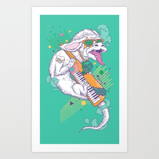 NeverEnding Solo Art Print