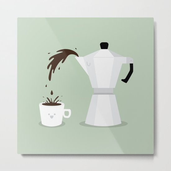 Espresso Time! Metal Print