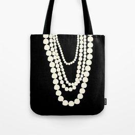 Fashion Pearls Tote Bag