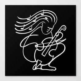 The Chello Canvas Print