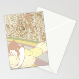 Flower Bed Stationery Cards