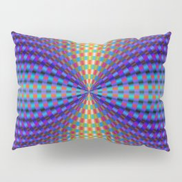 Circular Pinch in Color Pillow Sham