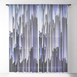 iDeal - Drip Lines Sheer Curtain