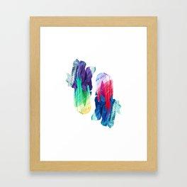 Paksoi Twins Framed Art Print