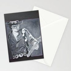 Stevie Ray Vaughan - Guitar Stationery Cards