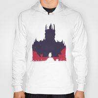 middle earth Hoodies featuring Middle-earth: Shadow of Mordor by Michael Fisher