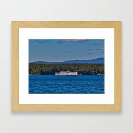 MS Mount Washington Framed Art Print