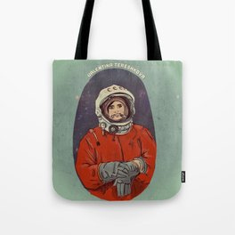 Valentina Tereshkova Tote Bag