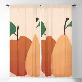An Apple and a Pear Blackout Curtain