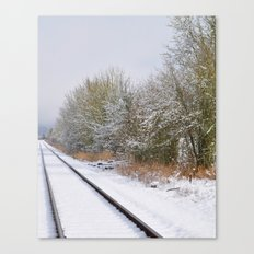 Remnants of a Simpler Time - The Tracks Canvas Print