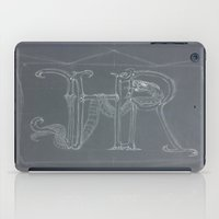 sketch iPad Cases featuring Sketch  by +A.M.D.G+