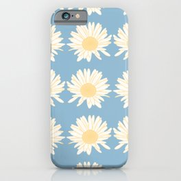 Cute Painted Style Daisy Pattern iPhone Case