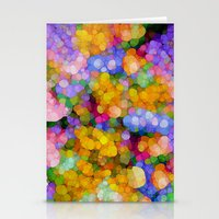 hippie Stationery Cards featuring Hippie Colors by Joke Vermeer
