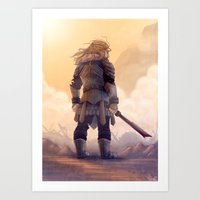 fili Art Prints featuring Fili by MaliceZ