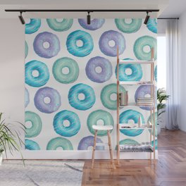 Holy Dessert Donuts Wall Mural