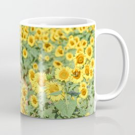 Sunflower Fields Coffee Mug
