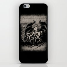 The Rise of Great Cthulhu iPhone & iPod Skin