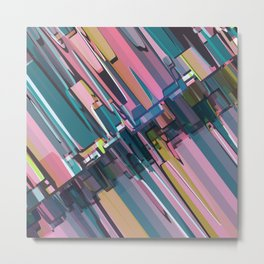 Abstract Composition 637 Metal Print