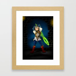 A Link to the Oni Framed Art Print