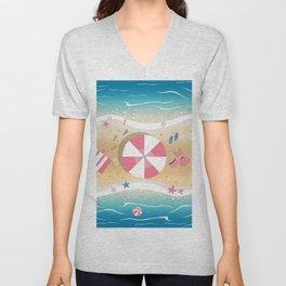 Summer Paradise Unisex V-Neck