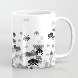 Invaded III B&W Coffee Mug