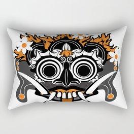 Rangda the Demon Queen Rectangular Pillow