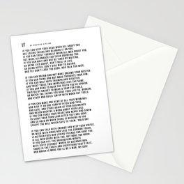 IF #minimalism Stationery Cards