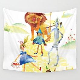 YELLOW BRICK GANG Wall Tapestry