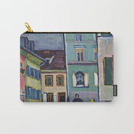 Wassily Kandinsky - Murnau  Top Of The Johannisstrasse Carry-All Pouch