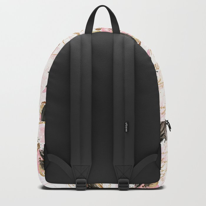 Black Swans ballerina #2 Backpack