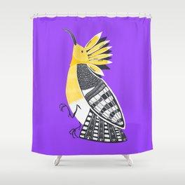 The Hoopoe Shower Curtain