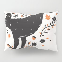Dogs of Fall - Orange Palette Pillow Sham