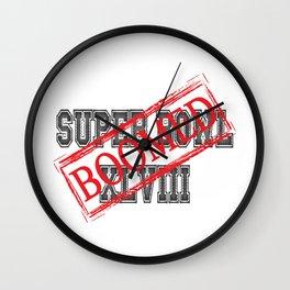 Seahawks' Super Bowl WIN Wall Clock