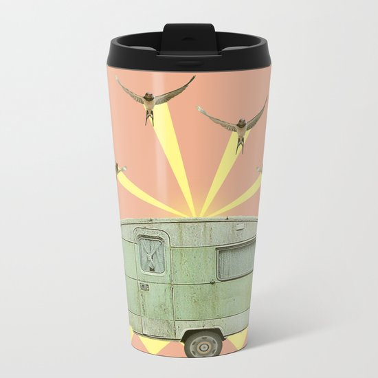 The best way to travel Metal Travel Mug