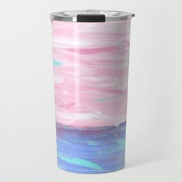Pink Sky Delight Travel Mug